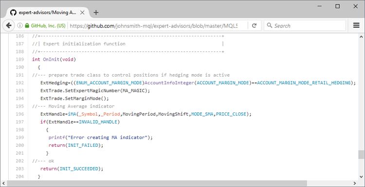 Syntaxhervorhebung beim Browsing des Quellcodes