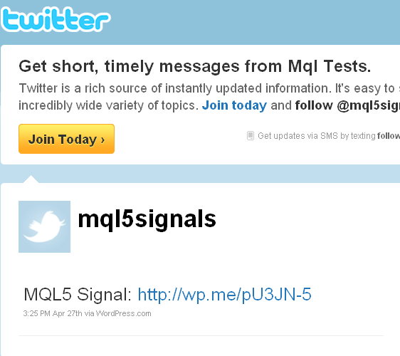 signal to twitter