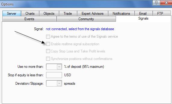 signals disabled? - Trading Signals - General - MQL5 programming forum