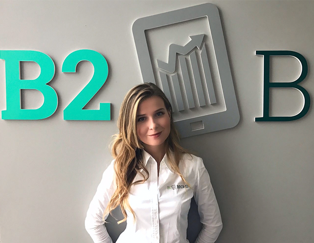 Evgeniya Mikulyak, COO of B2Broker
