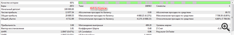 RTS splice