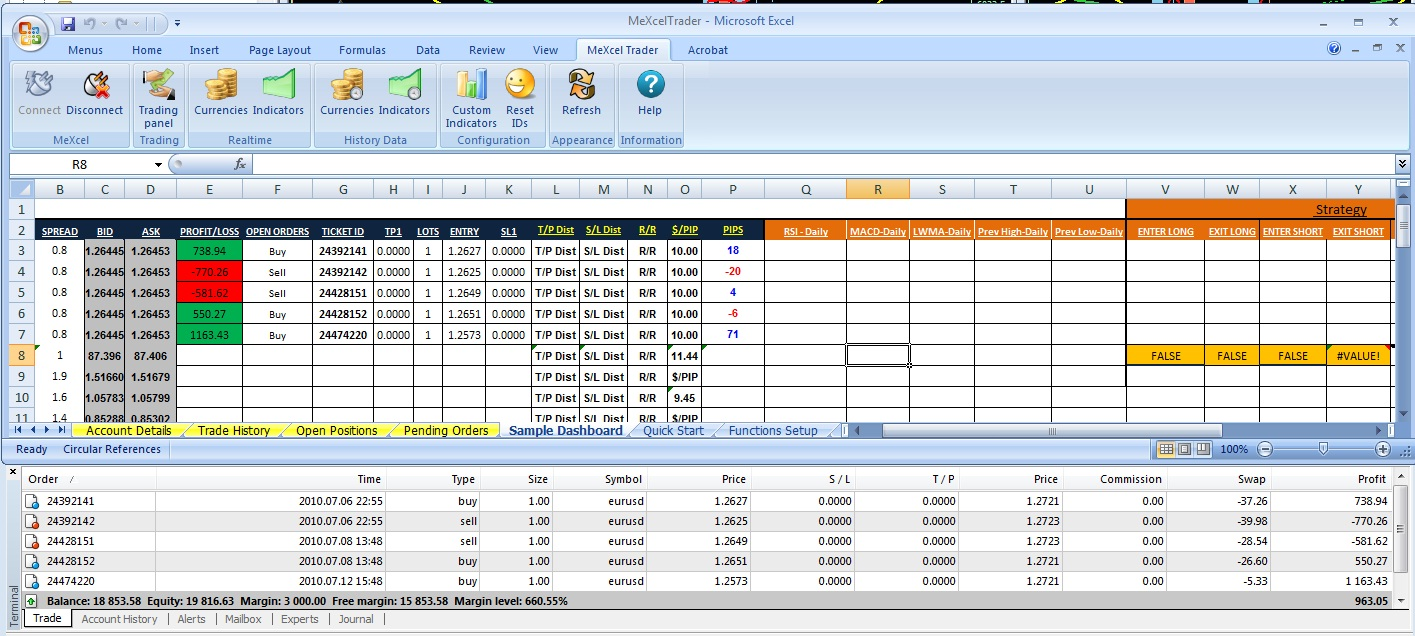 Pricing fx options excel