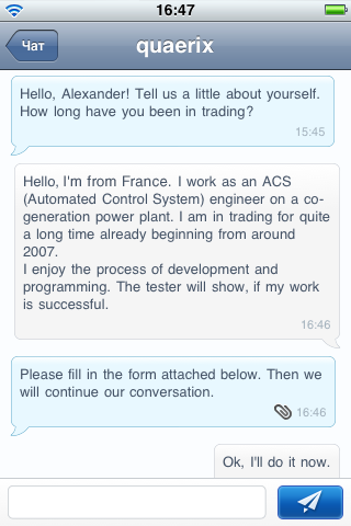 Chat with MQL5.com Users