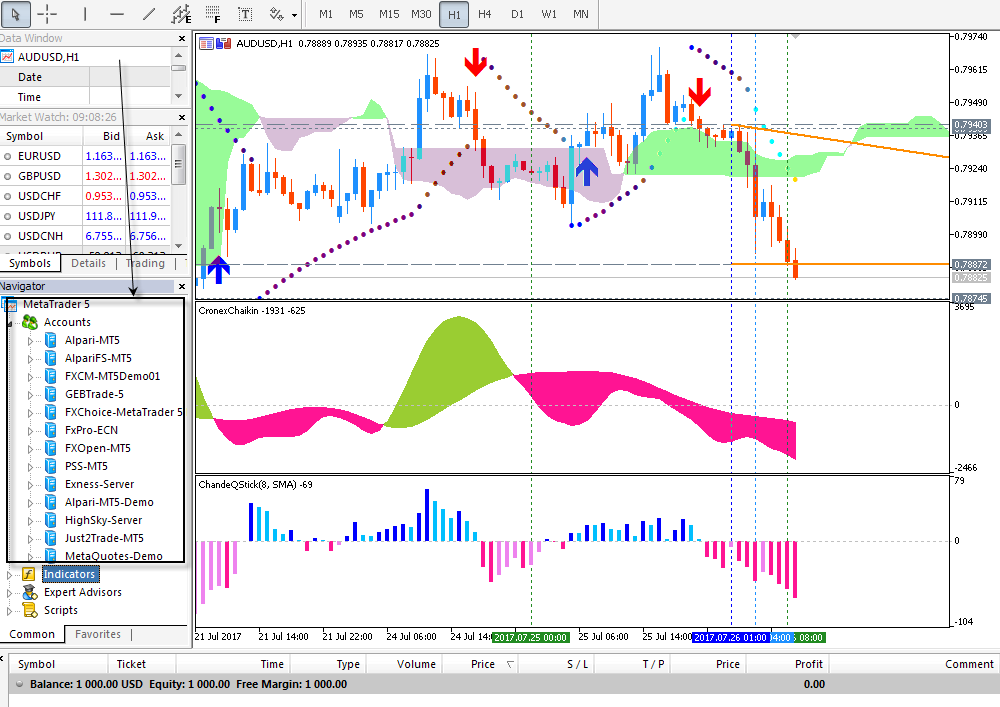 how to trade forex using metatrader 5