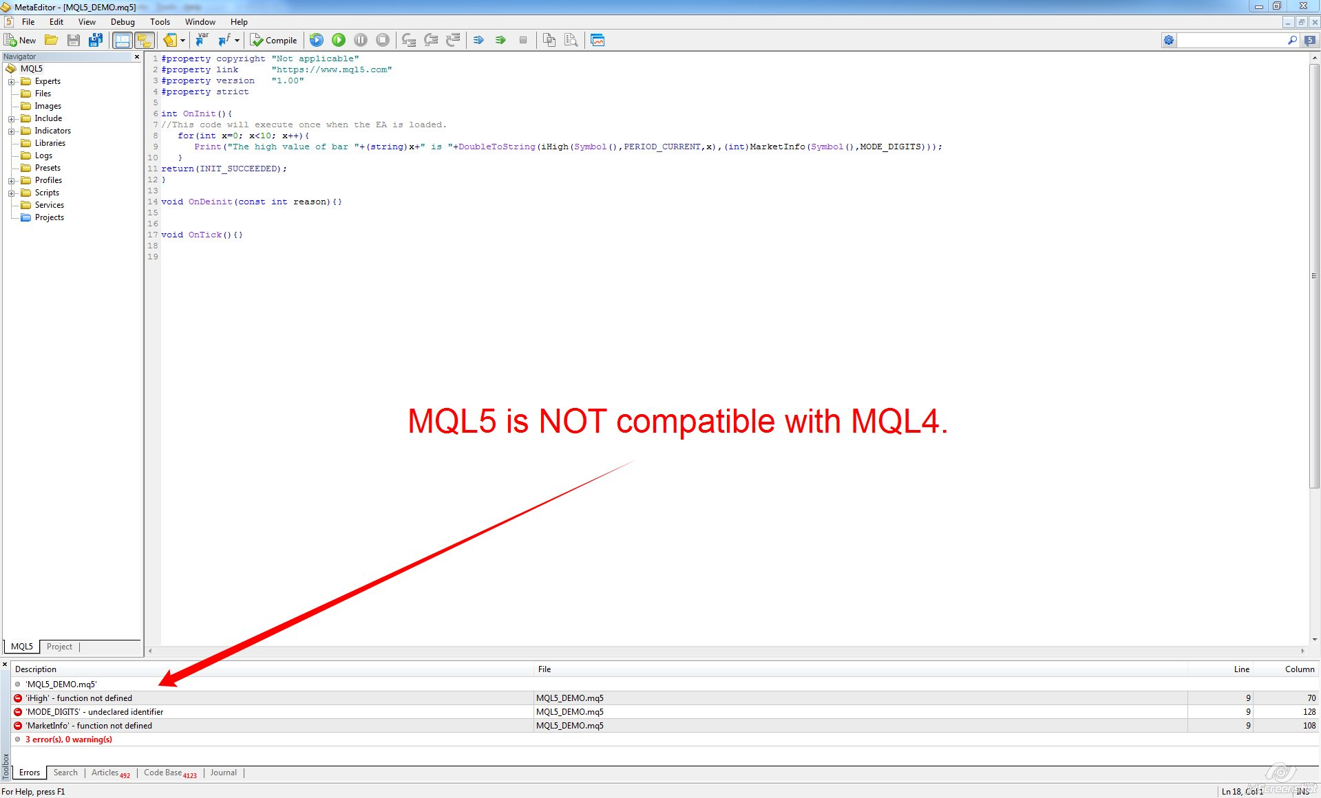 Is Mql5 Backward Compatible With Mql4 Metatrader Expert