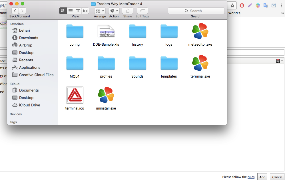 Cannot find Indicators Folder on MetaTrader 4 on MAC !? - MetaTrader