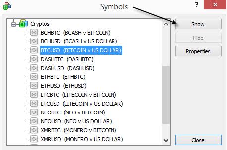 Скриншоты торговой платформы MetaTrader