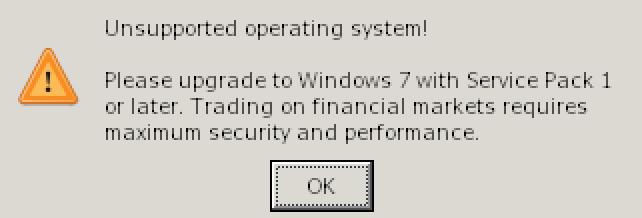 install windows on mac problem