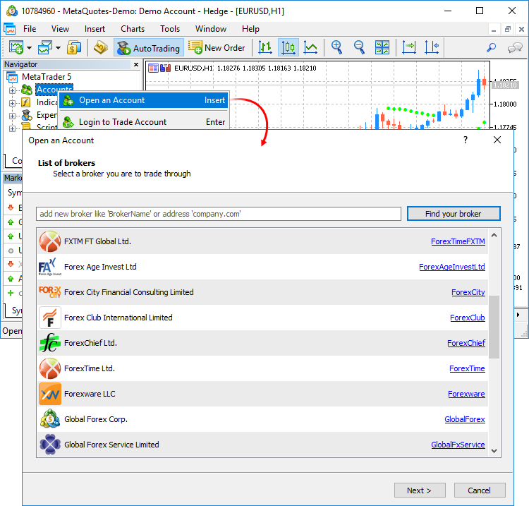 New MetaTrader 5 Platform beta build 1845: MQL5 functions for operations with bars and Strategy Tester improvements