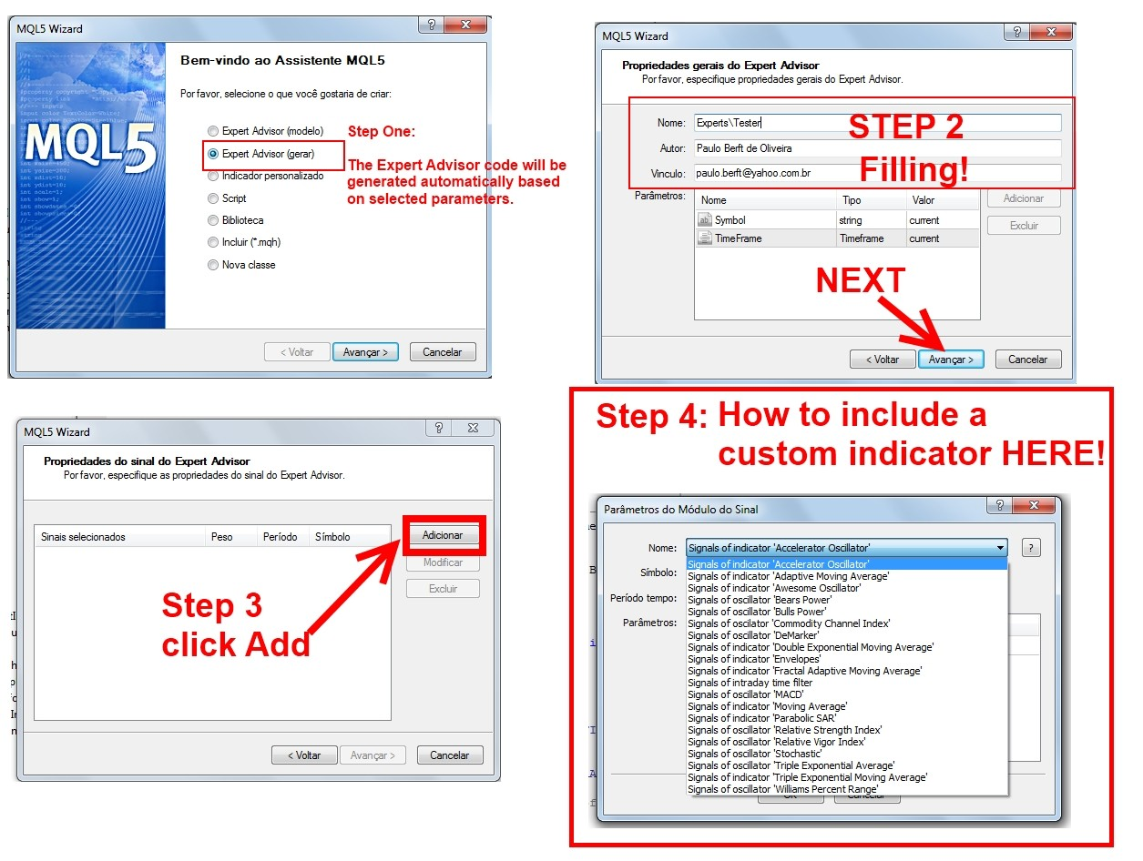 How To Include A Custom Indicator In Mql5 Wizard Metatrader 4