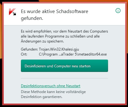 Kaspersky Message ( De )
