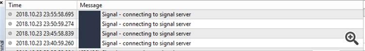signal error