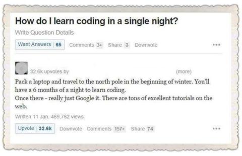 Coders joking :-D