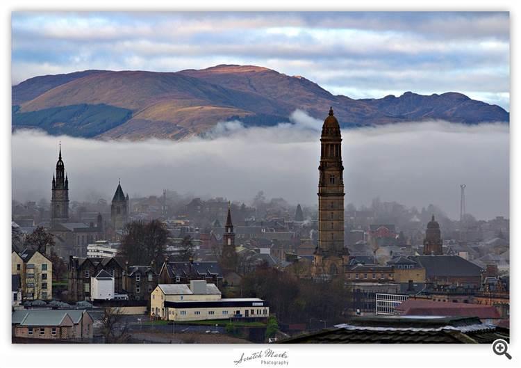 Greenock in Scotland