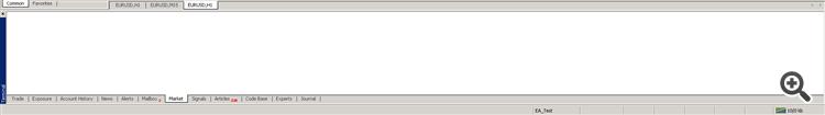 mt4 terminal blank screen