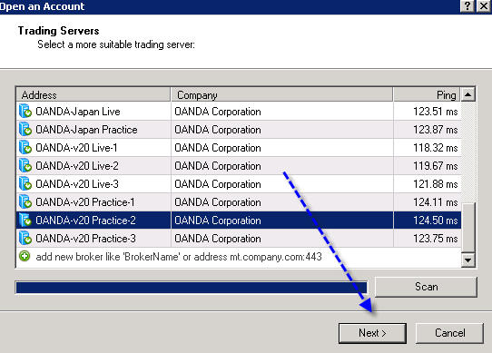 Can't login to OANDA - Trading Practice - General - MQL5 programming