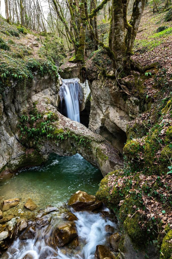 A natural pool 15min from the city, French Alps