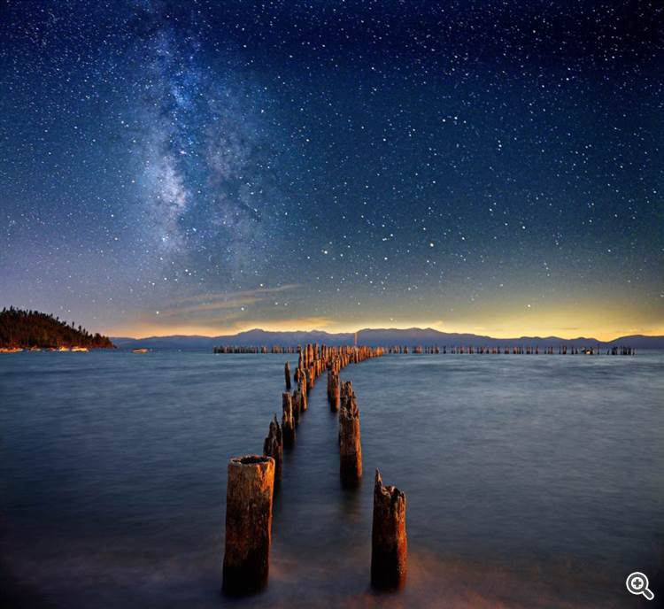 Milky Way at Lake Tahoe