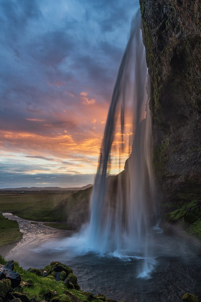 Seljandsfoss in Iceland
