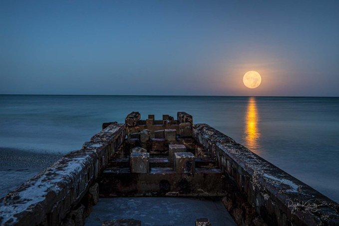Moonset Sail - Siesta Key - July 16th 2019 ~ Thanks to Ronald Kotinsky