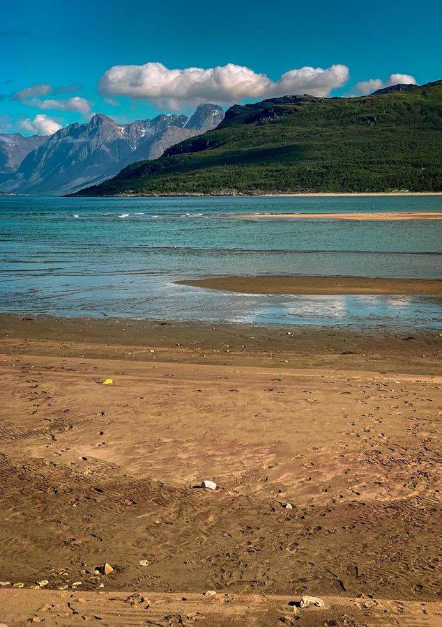 Low tide at Breivikeidet, Troms, Norway