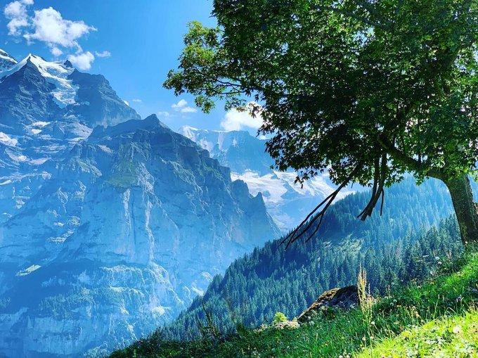 The Lauterbrunnen Valley, Switzerland