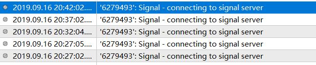 信号服务器
