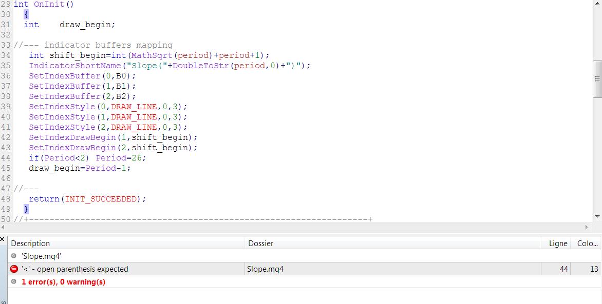 how to program mql4 forex