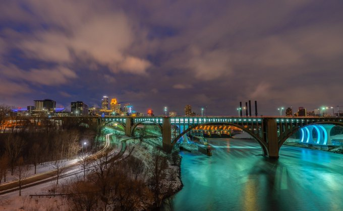 Minneapolis ~ beautiful in the cold