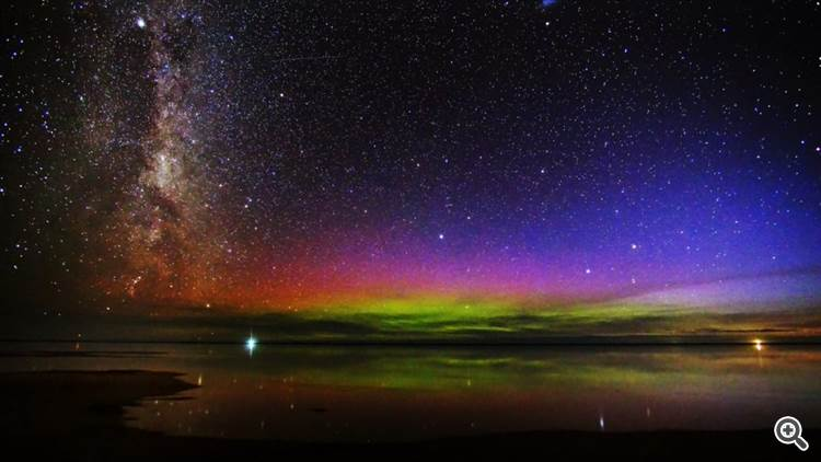 Milky Way at Awarua Bay, Invercargill, New Zealand
