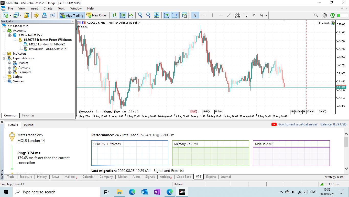 VPS activation for MT5 - Trading Platform - General - MQL5 ...