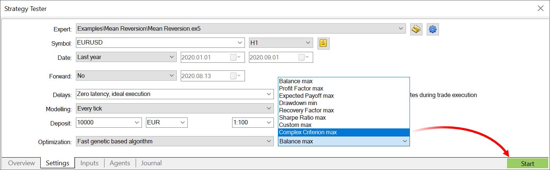MetaTrader 5 build 2615: Фундаментальный анализ и комплексный критерий в тестере стратегий