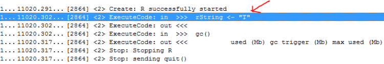 Wrong copy of string