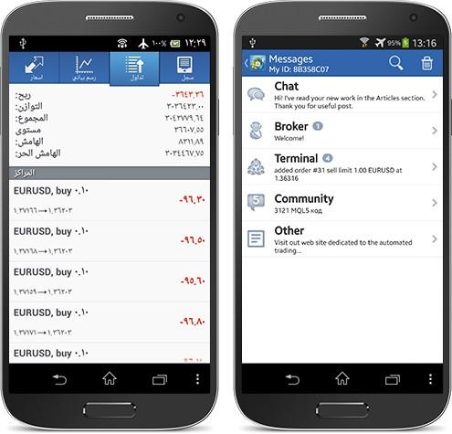 升级您的MetaTrader 4 Android版