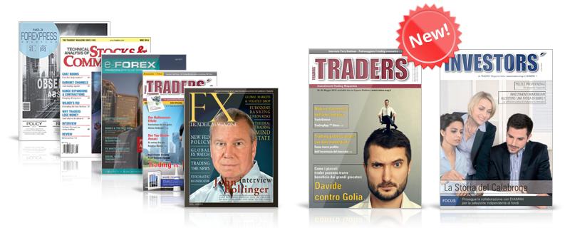 Siete revistas diferentes en MetaTrader Market