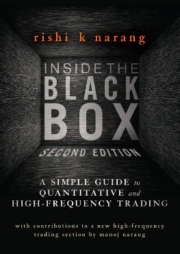 Black box trading systems