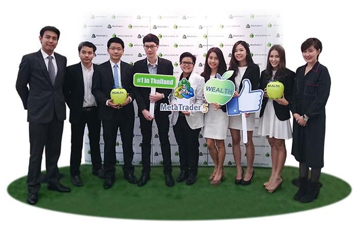 首个 MetaTrader 5 在泰国启用