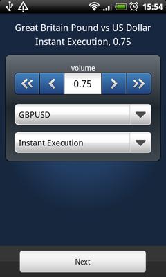MetaTrader 5 Android: Setting Trade