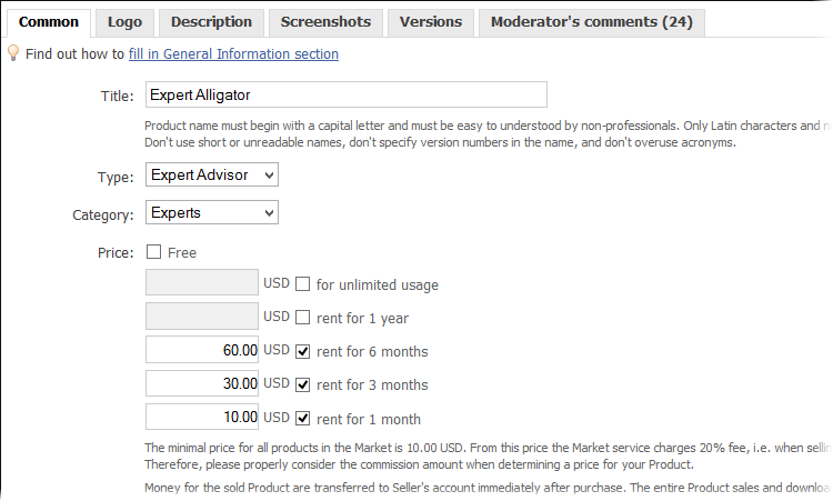 List of changes in MetaTrader 5 Client Terminal builds