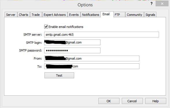 Email Alerts Now Not Working Metatrader General Mql5