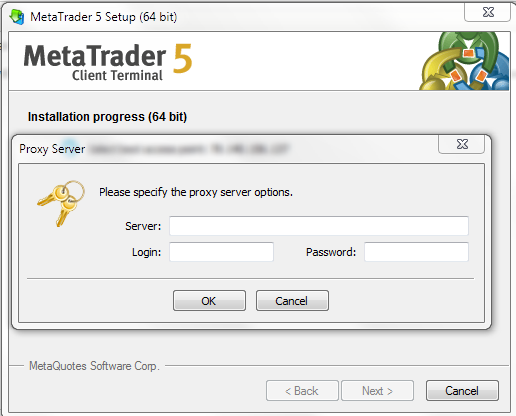 Free metatrader server keeps