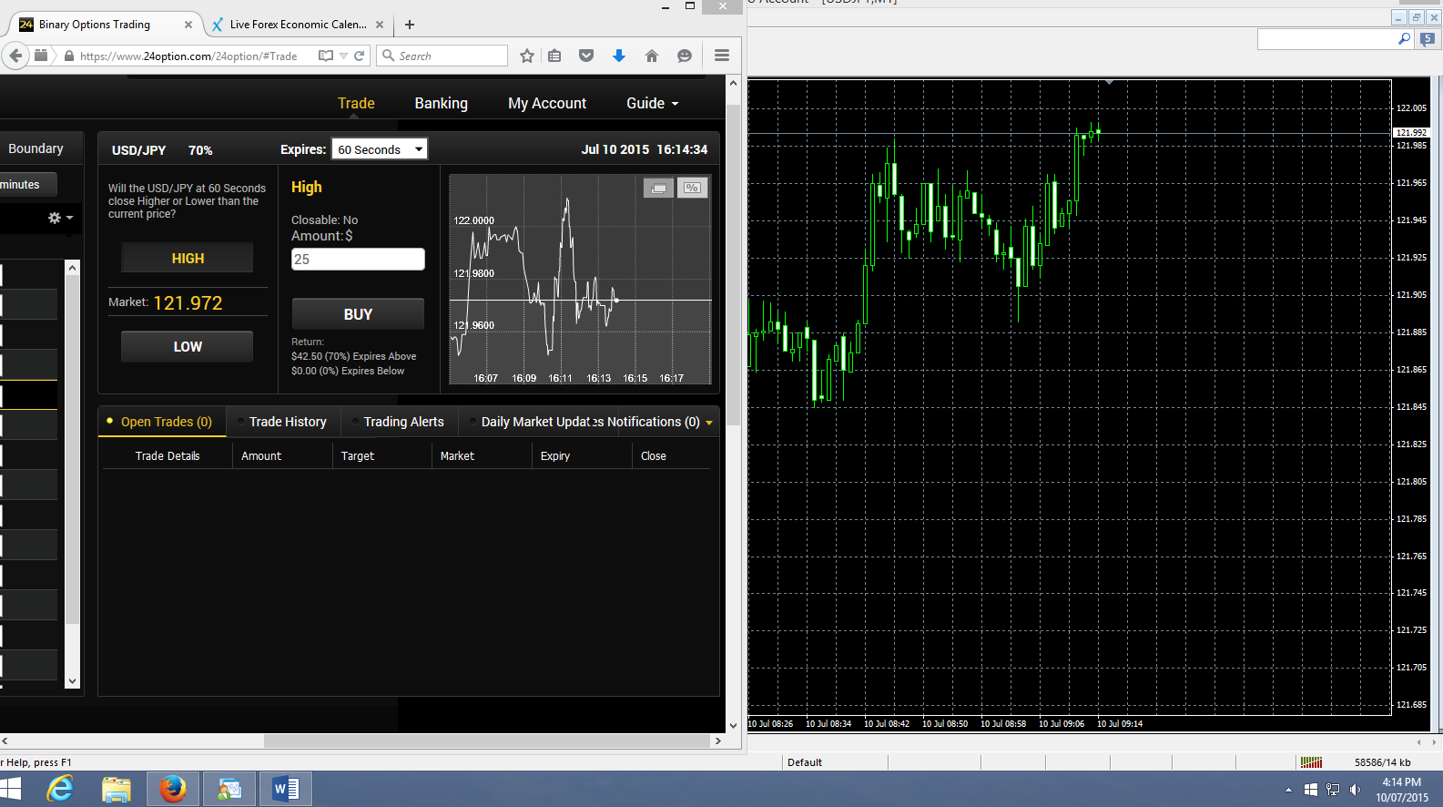 Time Lag With Data From MT4 - Forex Trading Platform - General