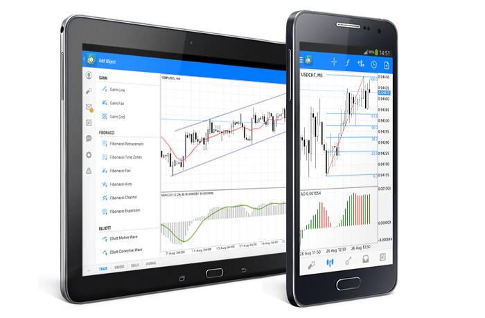 Nuevo MetaTrader 5 Android: 24 objetos analíticos y autorización de dos factores OTP