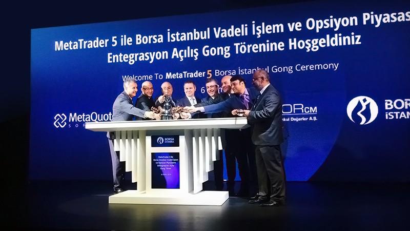 MetaTrader 5 запущен на Фондовой бирже Стамбула Borsa Istanbul (BIST)