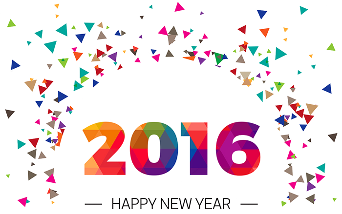 2016,新年快乐!
