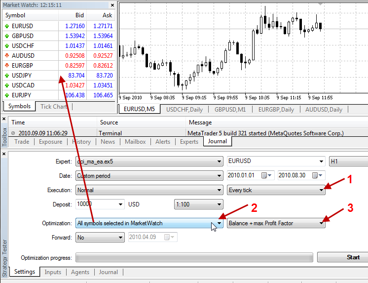 My Metatrader 5 don´t have optimization option - MetaTrader 4