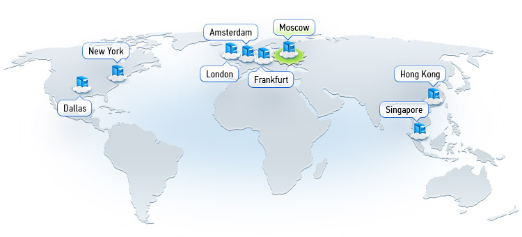 Os clientes de 190 corretores já estão usando hospedagem virtual nas plataformas MetaTrader