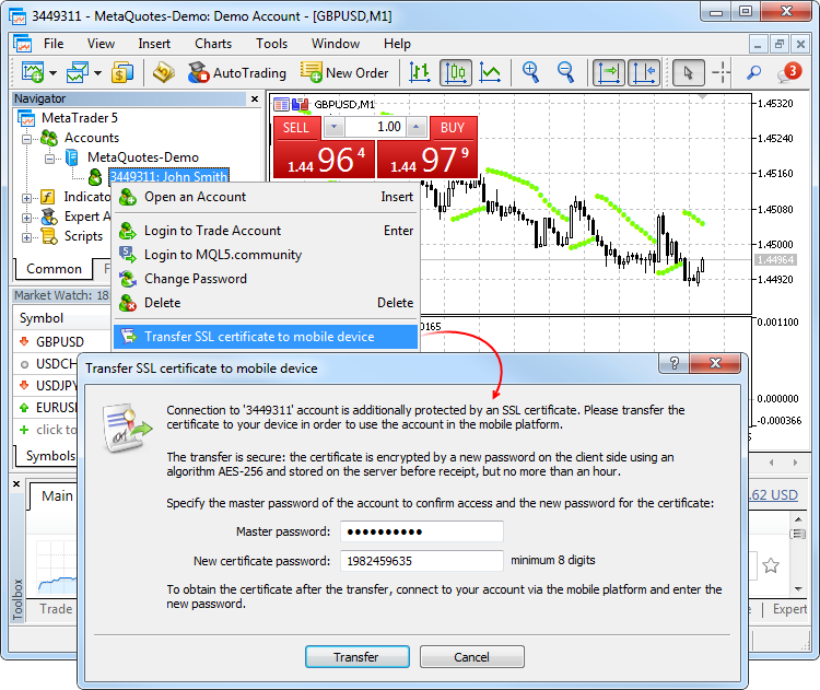 Metatrader 4 volatility indicator 8 parent