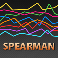 Spearman rank correlation