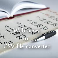 CSV economic news calendar auto converter